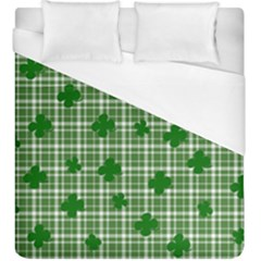 St. Patrick s day pattern Duvet Cover (King Size)