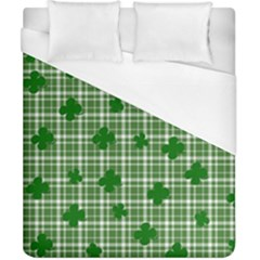 St. Patrick s day pattern Duvet Cover (California King Size)