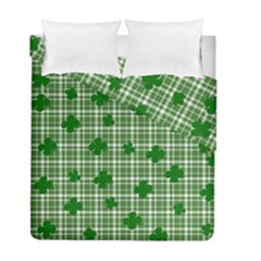 St. Patrick s day pattern Duvet Cover Double Side (Full/ Double Size)