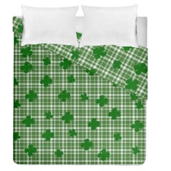 St. Patrick s day pattern Duvet Cover Double Side (Queen Size)