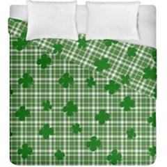 St. Patrick s day pattern Duvet Cover Double Side (King Size)