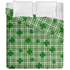 St. Patrick s day pattern Duvet Cover Double Side (California King Size)