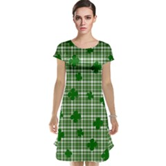St. Patrick s day pattern Cap Sleeve Nightdress