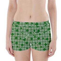 St. Patrick s day pattern Boyleg Bikini Wrap Bottoms