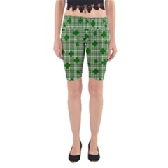 St. Patrick s day pattern Yoga Cropped Leggings