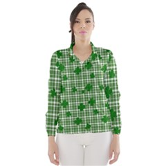 St. Patrick s day pattern Wind Breaker (Women)