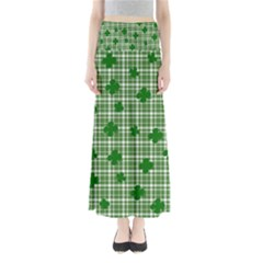St. Patrick s day pattern Maxi Skirts