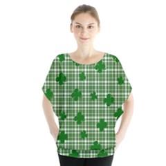 St. Patrick s day pattern Blouse