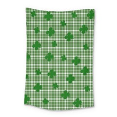 St. Patrick s day pattern Small Tapestry