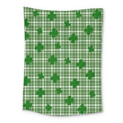 St. Patrick s day pattern Medium Tapestry