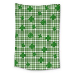 St. Patrick s day pattern Large Tapestry
