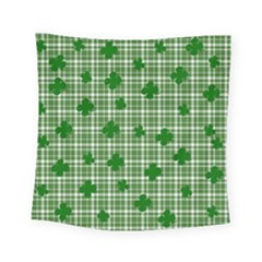 St. Patrick s day pattern Square Tapestry (Small)