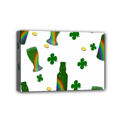 St. Patricks day  Mini Canvas 6  x 4