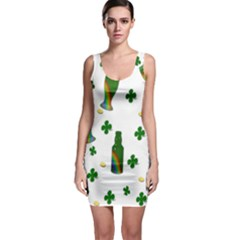 St. Patricks day  Sleeveless Bodycon Dress