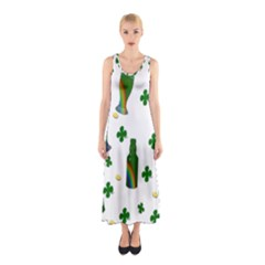 St. Patricks day  Sleeveless Maxi Dress