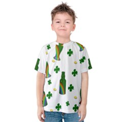 St. Patricks day  Kids  Cotton Tee