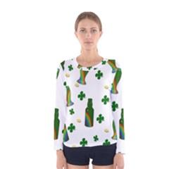 St. Patricks day  Women s Long Sleeve Tee