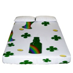 St. Patricks day  Fitted Sheet (King Size)