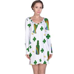 St. Patricks day  Long Sleeve Nightdress