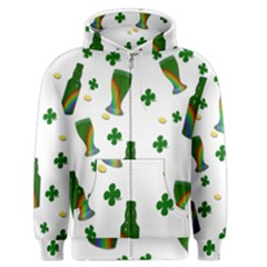 St. Patricks day  Men s Zipper Hoodie