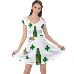 St. Patricks day  Cap Sleeve Dresses