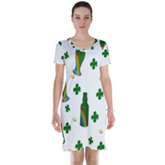 St. Patricks day  Short Sleeve Nightdress