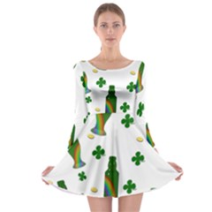 St. Patricks day  Long Sleeve Skater Dress