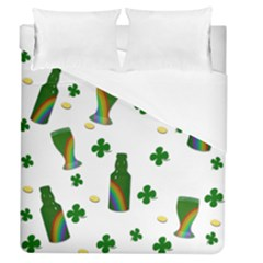 St. Patricks day  Duvet Cover (Queen Size)