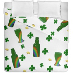 St. Patricks day  Duvet Cover Double Side (King Size)