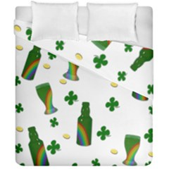 St. Patricks day  Duvet Cover Double Side (California King Size)