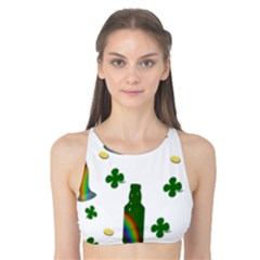 St. Patricks day  Tank Bikini Top