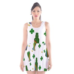 St. Patricks day  Scoop Neck Skater Dress