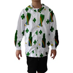 St. Patricks day  Hooded Wind Breaker (Kids)