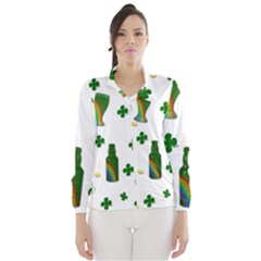 St. Patricks day  Wind Breaker (Women)