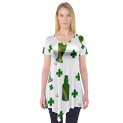 St. Patricks day  Short Sleeve Tunic
