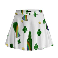 St. Patricks day  Mini Flare Skirt