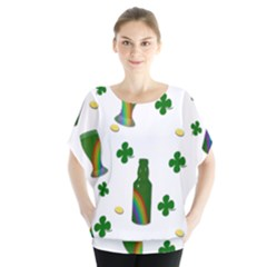 St. Patricks day  Blouse