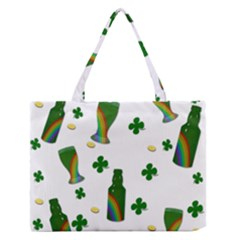 St. Patricks day  Medium Zipper Tote Bag