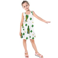 St. Patricks day  Kids  Sleeveless Dress