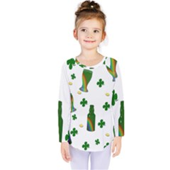 St. Patricks day  Kids  Long Sleeve Tee
