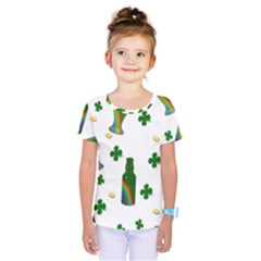 St. Patricks day  Kids  One Piece Tee