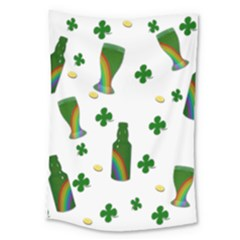 St. Patricks day  Large Tapestry