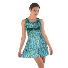 Mermaid Cotton Racerback Dress