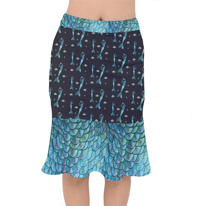 Short Mermaid Skirt