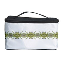 Ethnic Floral Stripes Cosmetic Storage Case