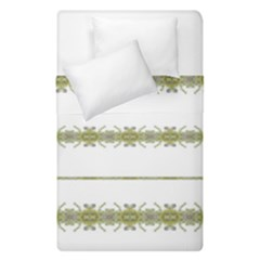 Ethnic Floral Stripes Duvet Cover Double Side (Single Size)