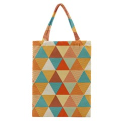Triangles Pattern  Classic Tote Bag