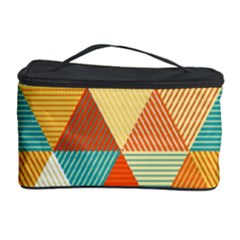 Triangles Pattern  Cosmetic Storage Case