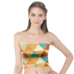 Triangles Pattern  Tube Top