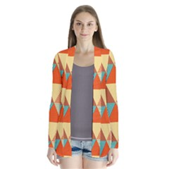 Triangles Pattern  Cardigans